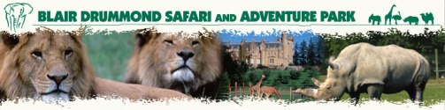 Aventuras en Escocia, Blair Drummond Safari Park and Adventure Park