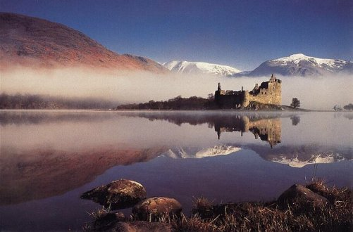 Loch Awe en Escocia