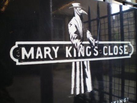Mary King's Close, bajo las calles de Edimburgo