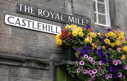 Royal Mile de Edimburgo: Castlehill, el tramo inicial