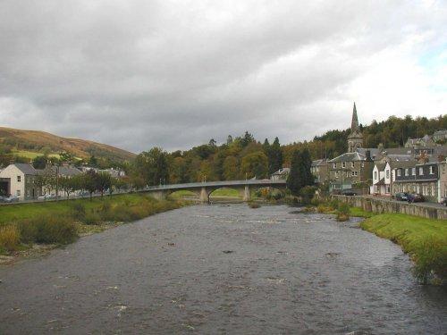 Langholm y el rio Esk