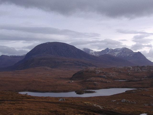 Las montañas de An Teallach
