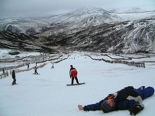 Esquiar en Aviemore, en las Higlands escocesas