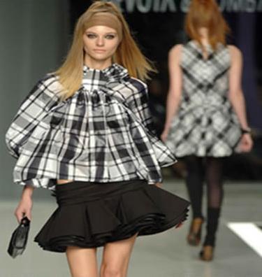 Moda con influencia escocesa