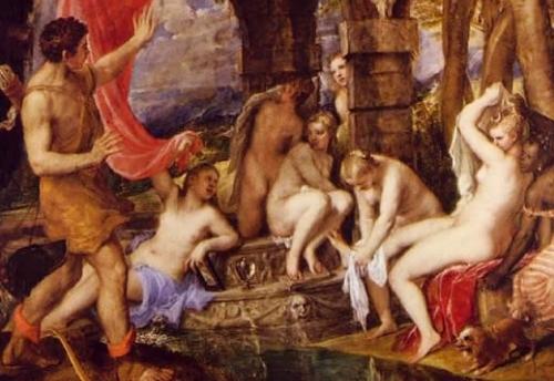 Diana y Acteón, aún en el National Galleries