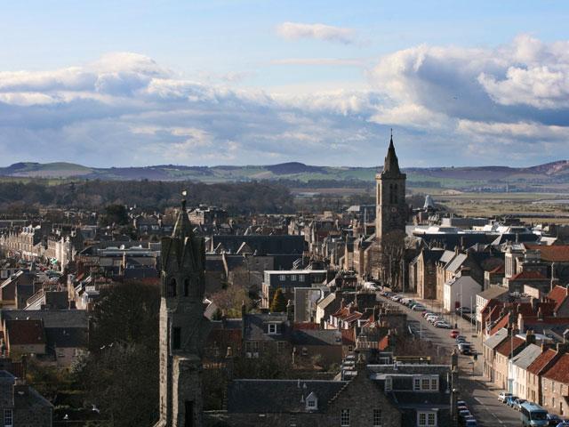 Saint andrews centro religioso y medieval for Oficina de turismo de escocia