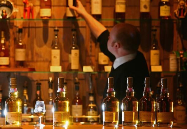 Whisky Bars en Edimburgo