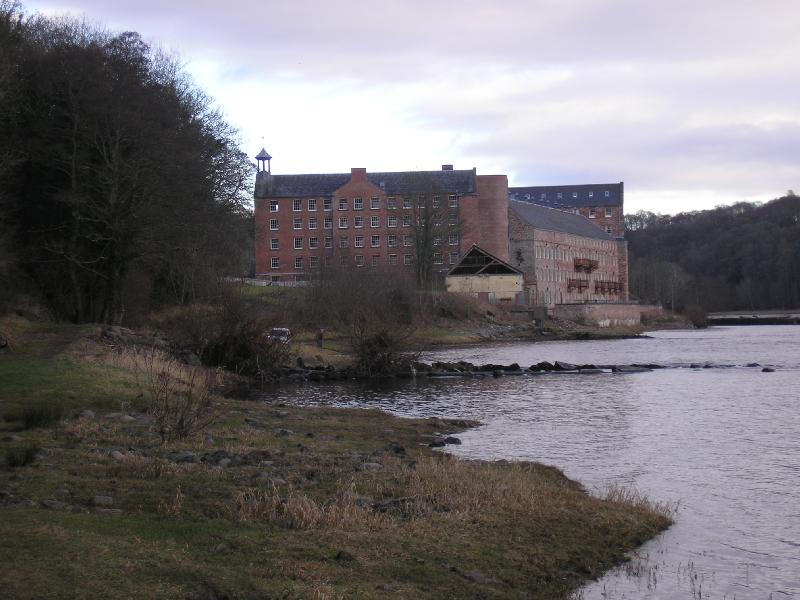 Stanley Mills, la revolución industrial en Escocia