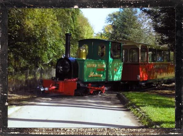 Alford Valley Railway, antigua estación de tren