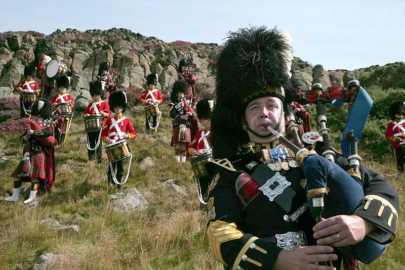 La gaita escocesa