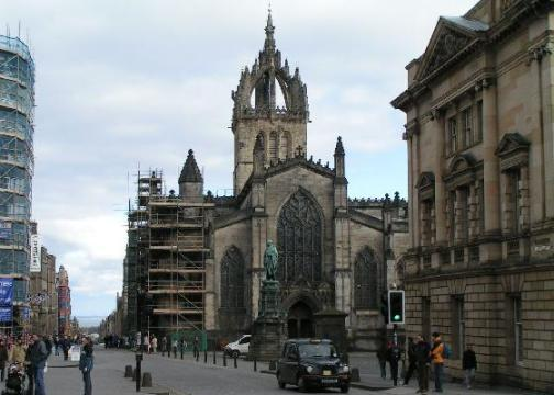 Royal Mile Saint Giles Cathedral