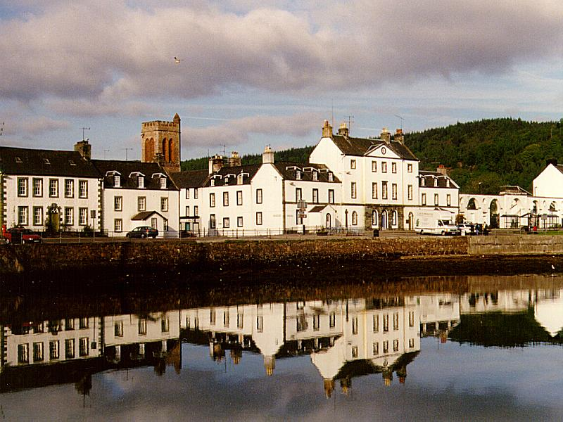 Inveraray, popular pueblo turístico