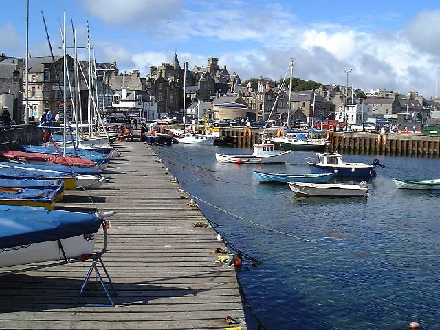 Lerwick, la capital de las Islas Shetland
