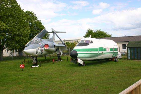 El Museo de Aviación de las Highland en Inverness
