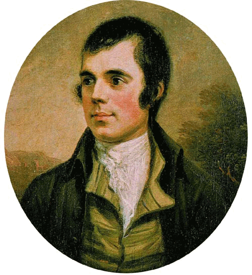 Robert Burns, poeta nacional escocés