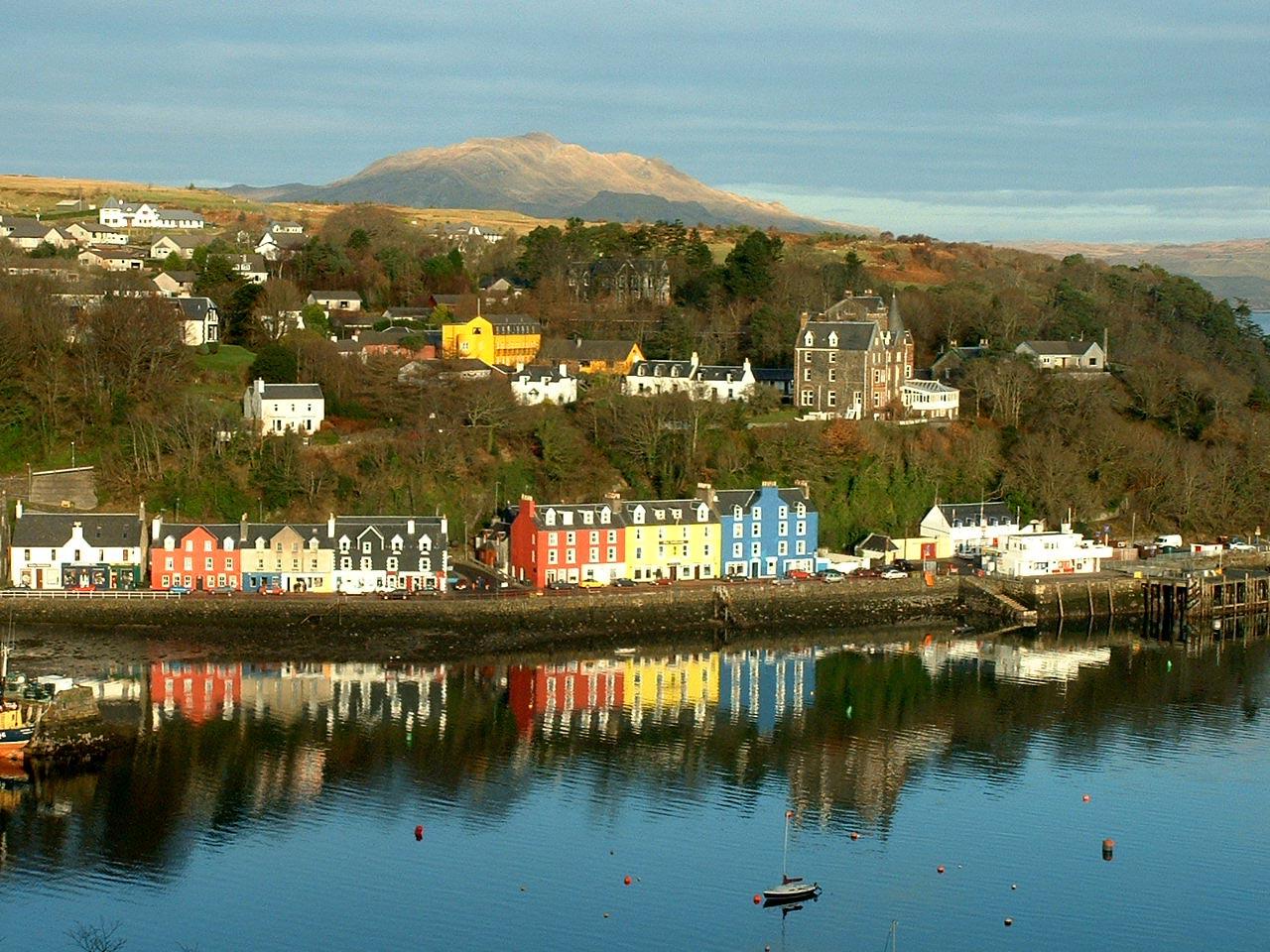 Tobermory United Kingdom  city photo : Tobermory, el puerto más bonito de Escocia