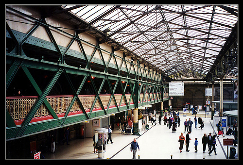 Estaciones de tren de Edimburgo y Glasgow