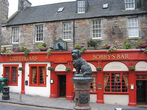 La Estatua de Bobby, en Edimburgo