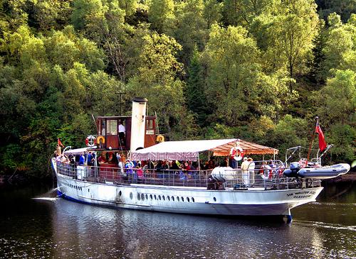 Crucero en Loch Katrine
