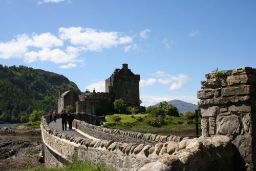 Un fantasma español en el castillo de Eilean Donan