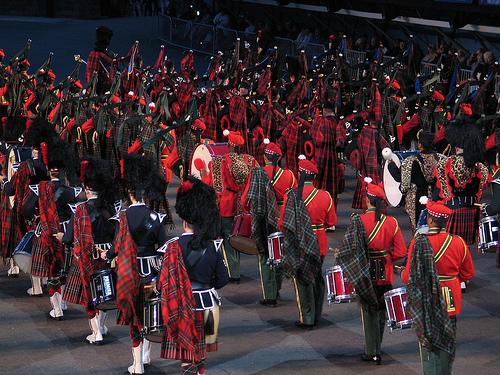 Military Tatoo Festival en Edimburgo
