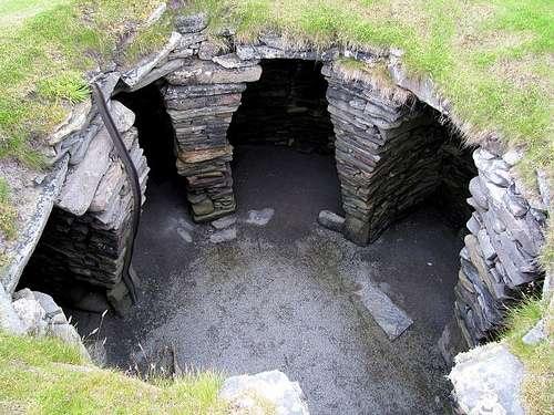 Wheelhouse, timonera prehistórica de la Edad de Hierro