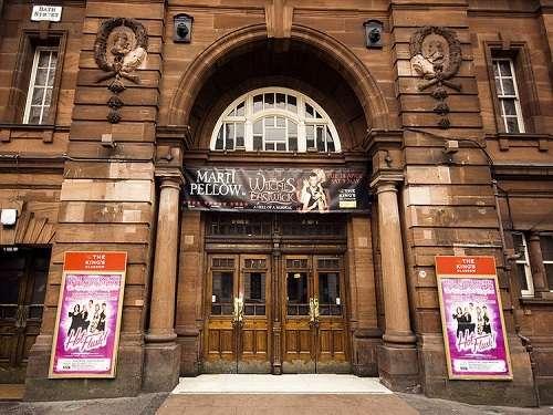 De paseo por el Teatro Kings en Glasgow