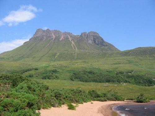 Stac Pollaidh, escalando montañas escocesas