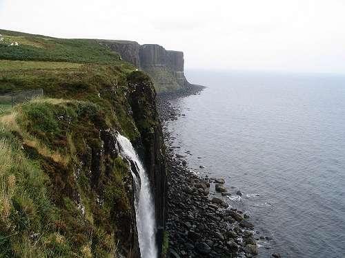 Acantilados de Kilt Rock, en Skye