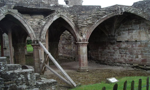 Balmerino Abbey: un monasterio en Fife