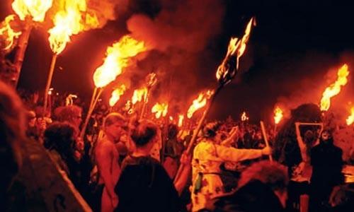Festival del Fuego en Edimburgo