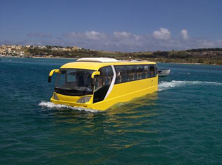 Bus Anfibio en Hungria