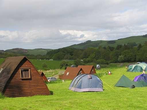 Campings en Escocia