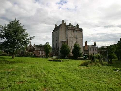 Delgatie Castle, entre fantasmas