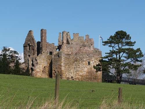 El castillo de Dirleton