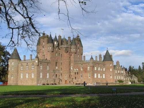La nueva imagen del Castillo de Glamis