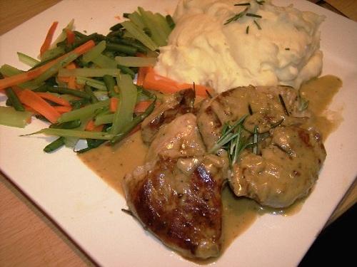 Receta de collops, plato de carne escocés