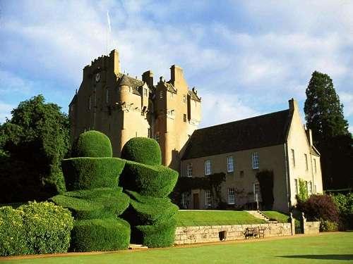 Castillo de Crathes, en Aberdeenshire