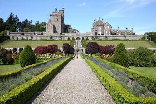 Jardines del castillo Drummond