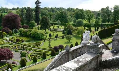 Jardines del Castillo de Drummond