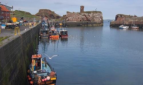 La ciudad de Dunbar y su castillo