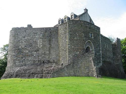 El castillo de Dunstaffnage