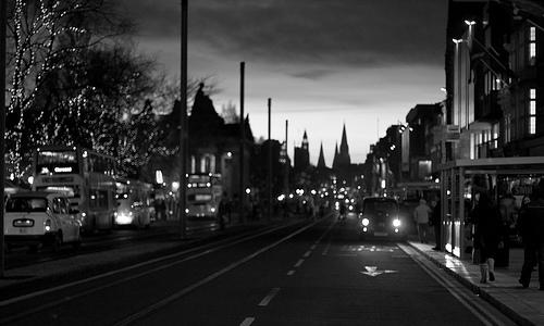 Edimburgo y los fantasmas