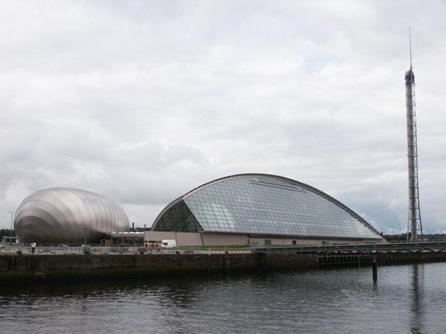 El destacado Glasgow Science Center