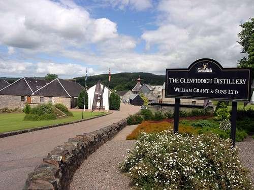 Destilería Glenfiddich, whisky escocés de malta