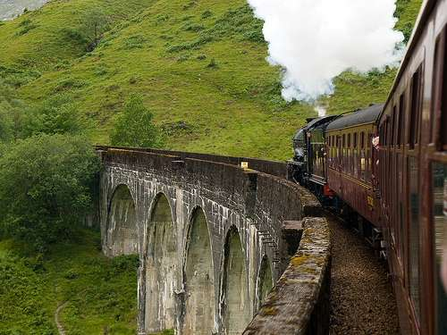 El tren de Harry Potter, en Inverness