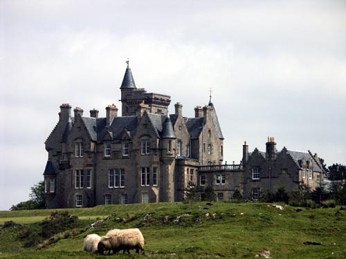 Dormir en el Castillo de Glengorm