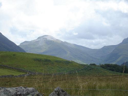 Montes Grampianos en las Highlands