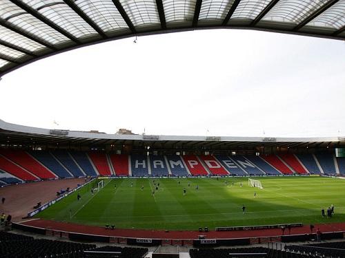 Estadio de Fútbol Hampden, en la ciudad de Glasgow