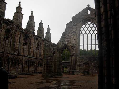 La abadia de Holyrood